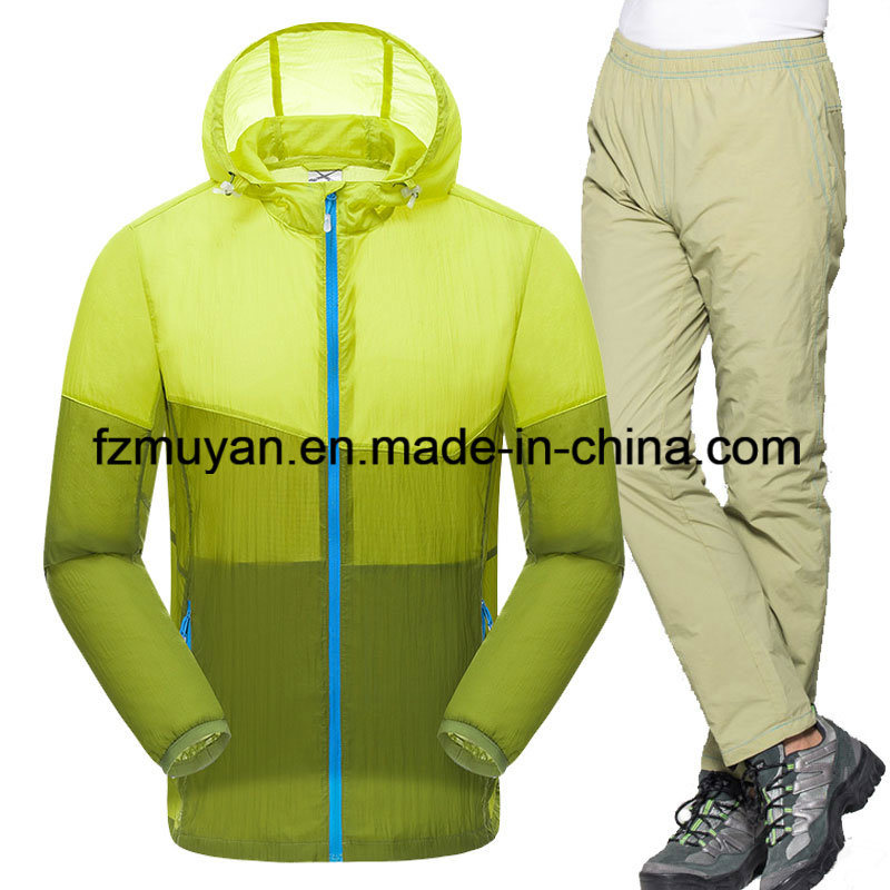 Lightweight Two-Piece Suit Sunscreen Skin Clothing Waterproof UV