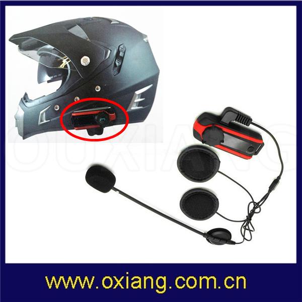 800-1000m Hands Free Bluetooth Motorcycle Intercom Motorbike Helmet Headset