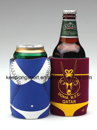 Fashionable Insluated Neoprene Beer Can Cooler, Neoprene Can Holder, Bottle Cooler