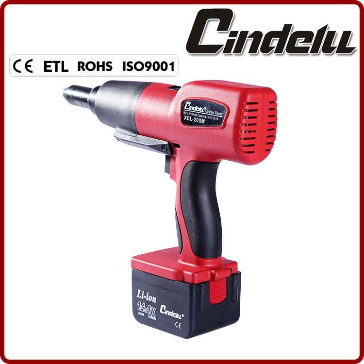 Cordless Battery Operated Rivet Tool (XDL-200M)