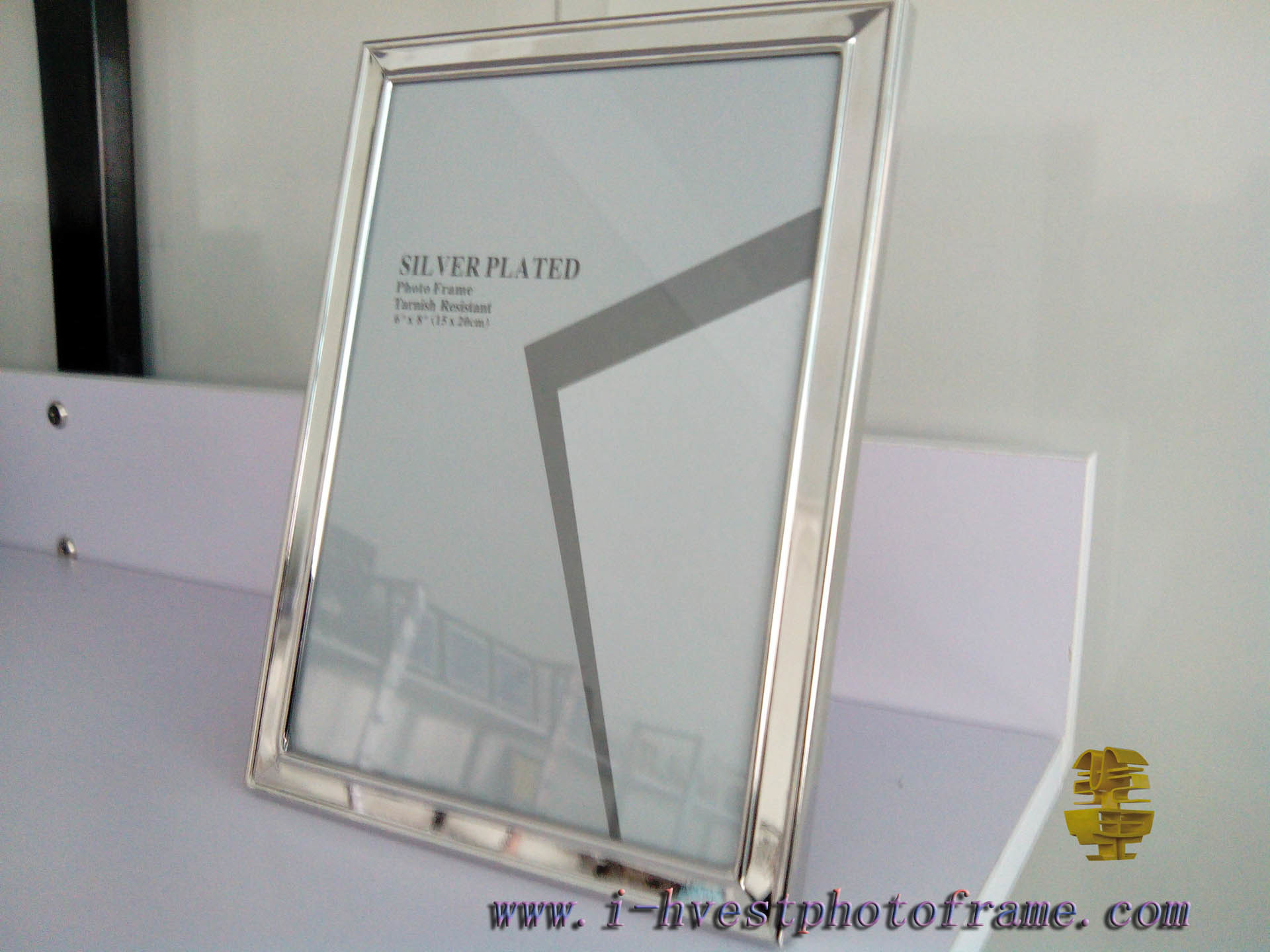 Iron Silver Plated, European Style Photoframe (147001)