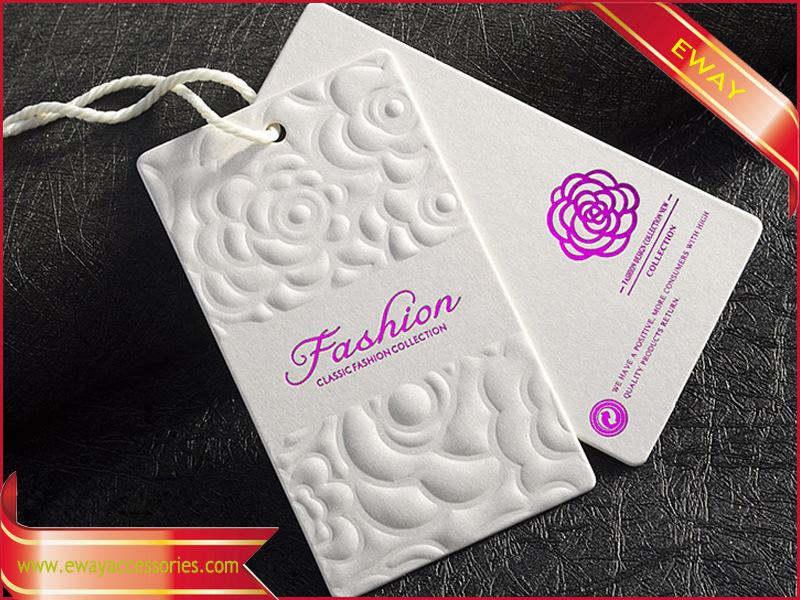 China Women Clothing Hang Tag Nice Printing Brand Tag - China Hang ...