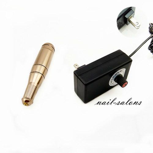 Pen Shape Electric Nail Art Salon Manicure Pedicure Drill File Polish Tool Set