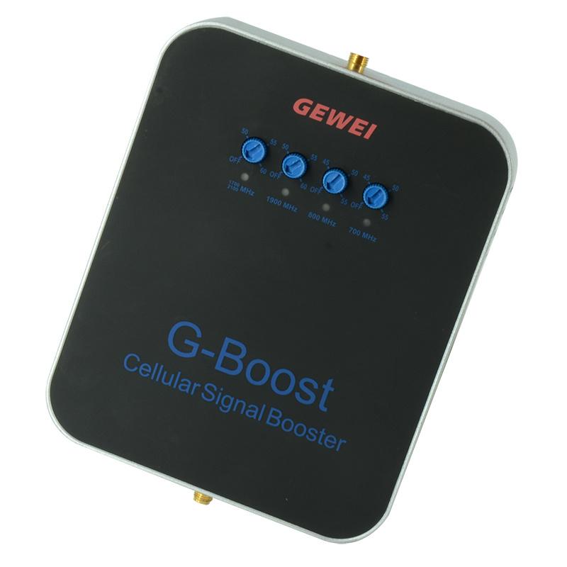 700/850/1900/2100MHz 5-Band Cellular Signal Amplifier RF Signal Booster Signal Amplifier 2g 3G 4G Signal Booster