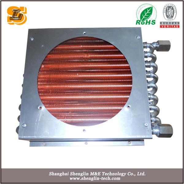 Tube Fin Type Copper Condenser Coil