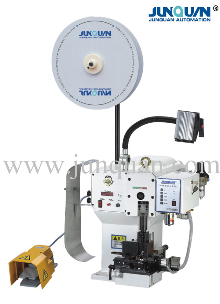 Semi-Automatic Terminal Stripping and Crimping Machine (SATC-20B)