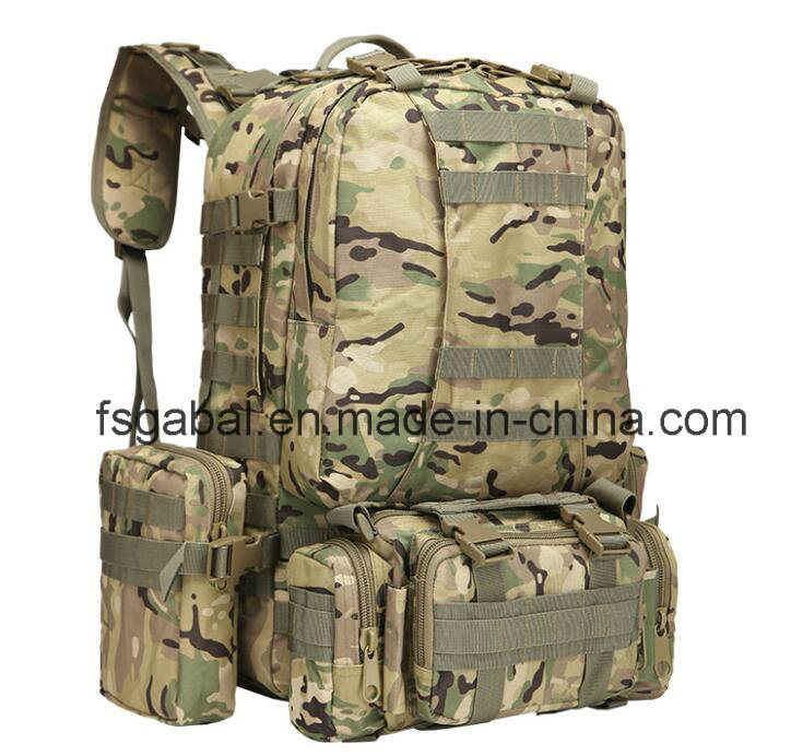 600d Outdoor Molle Gear Camo Military Sports Hiking Bag Backpack