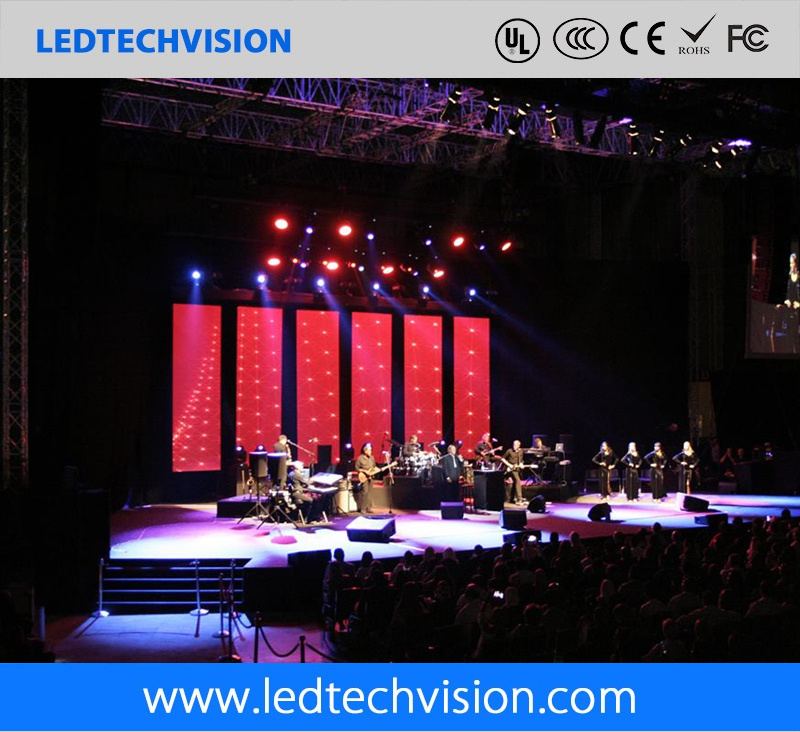 Indoor Rental LED Screen Display for Stage Use (P3.91mm, P4.81mm, P6.25mm)