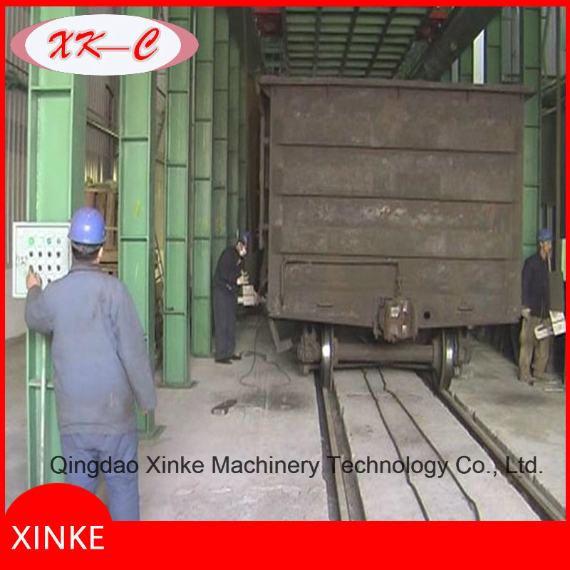 Container Work Car Shot Blasting Machine Qwh30