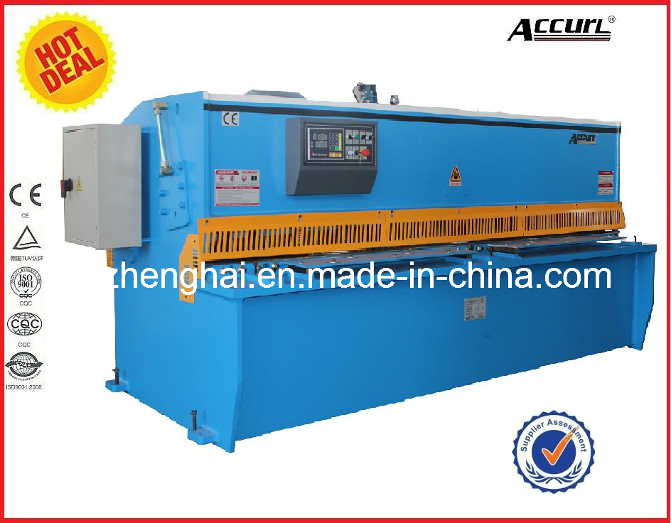 Hydraulic QC12y-8*4000 with CE Certificate Popular in USA and EU Hot Sale Product Shearing Machine