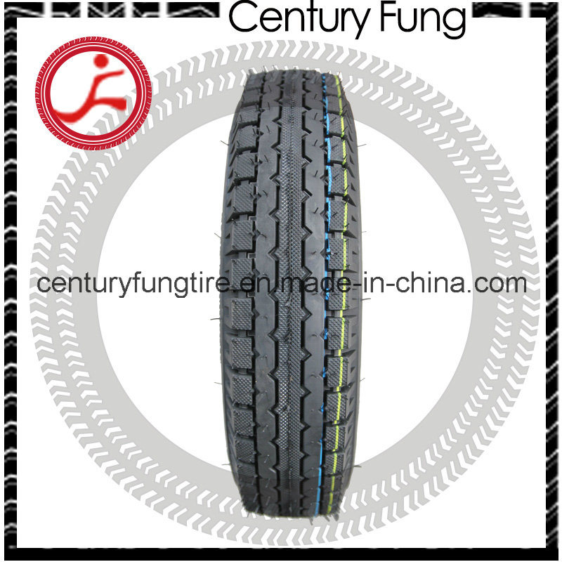 Three-Wheeler Tire for Tutucar Size 4.00-8 Sawtooth Mrf