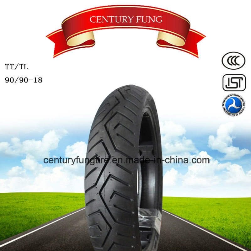 Hot Selling 90/90-18 Motorcycle Tire with Popular Pattern