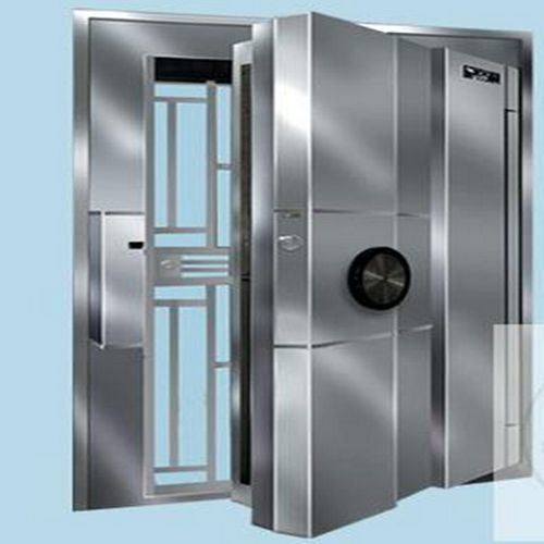 Office Furniture/Stainless Steel Double Door Bank Vault Door Antitheft Door
