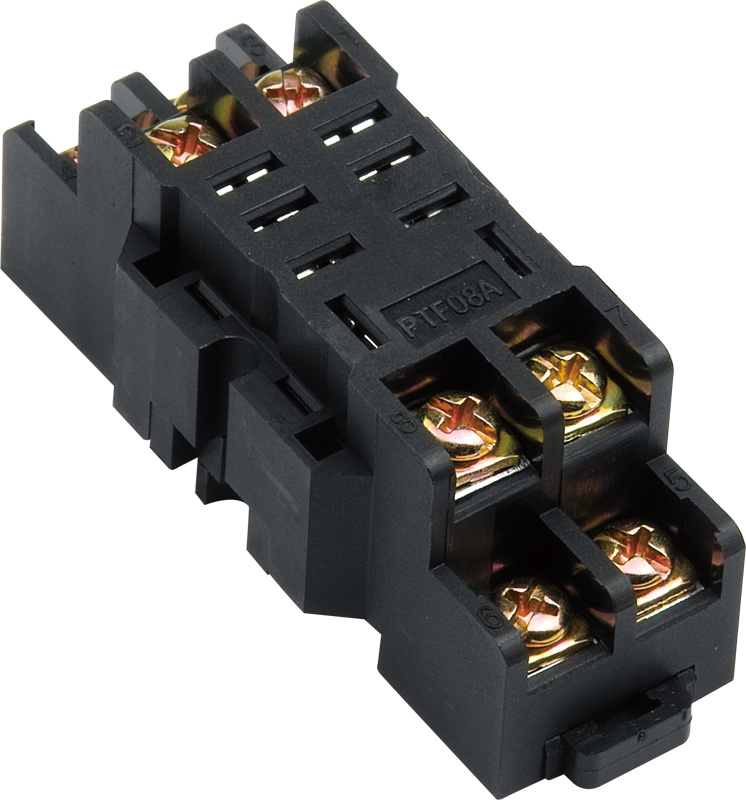 General Purpose Relay Socket with 8 Pins (PYF08A)