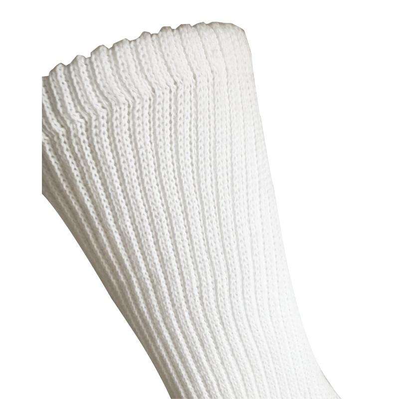 Half Cushion Sorbtek Coolmax Diabetic Health Care Medical White Socks (JMDB03)