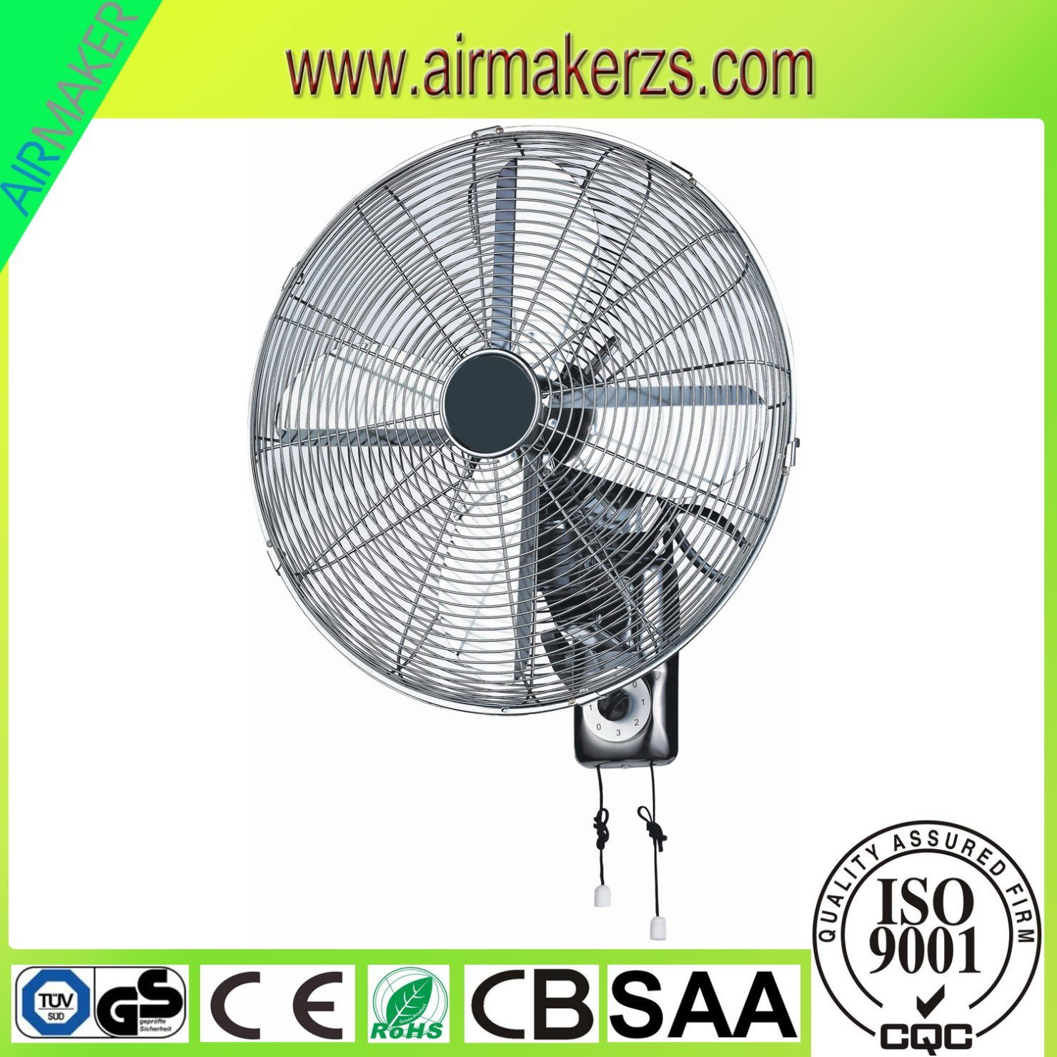 """16"""" Mechanical Wall Fan/High Temperature Fan with GS/Ce/RoHS"""