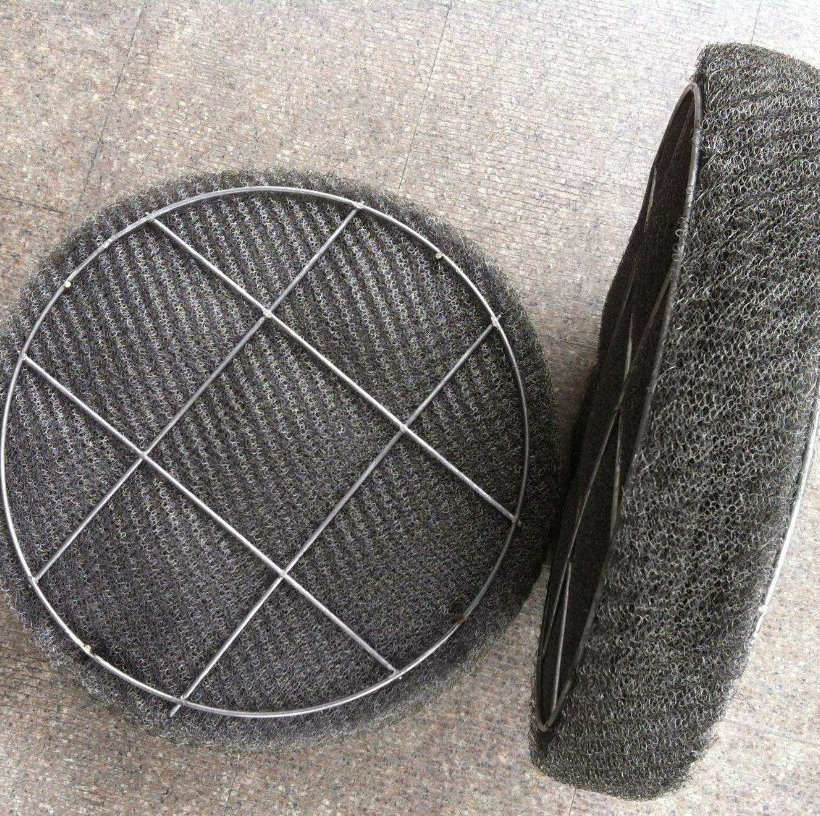 Stainless Steel Knitted Wire Metal Mesh Demister/Demister Pad
