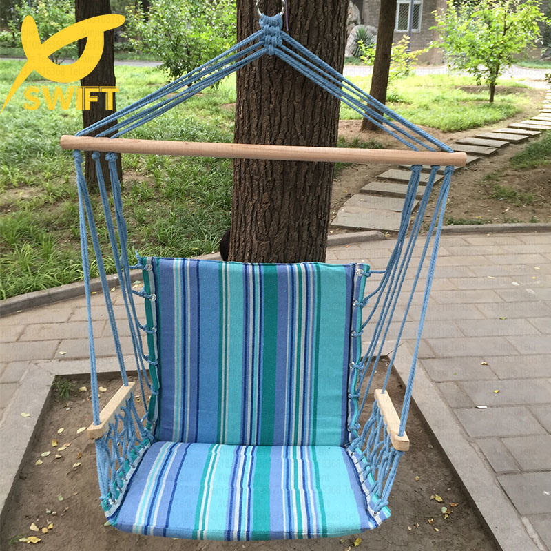 1 Person Patio Quilted Garden Swing