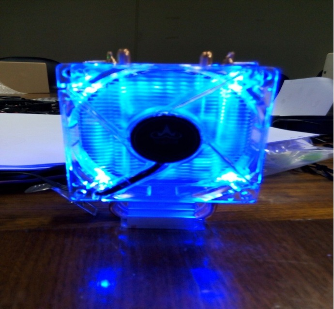 80mm LED PC Cooling Fans