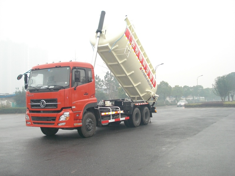 22cbm T-Lifting Shaped Dry Powder Property Truck