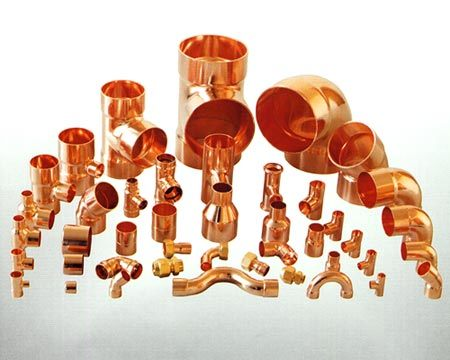 Kobber fittings
