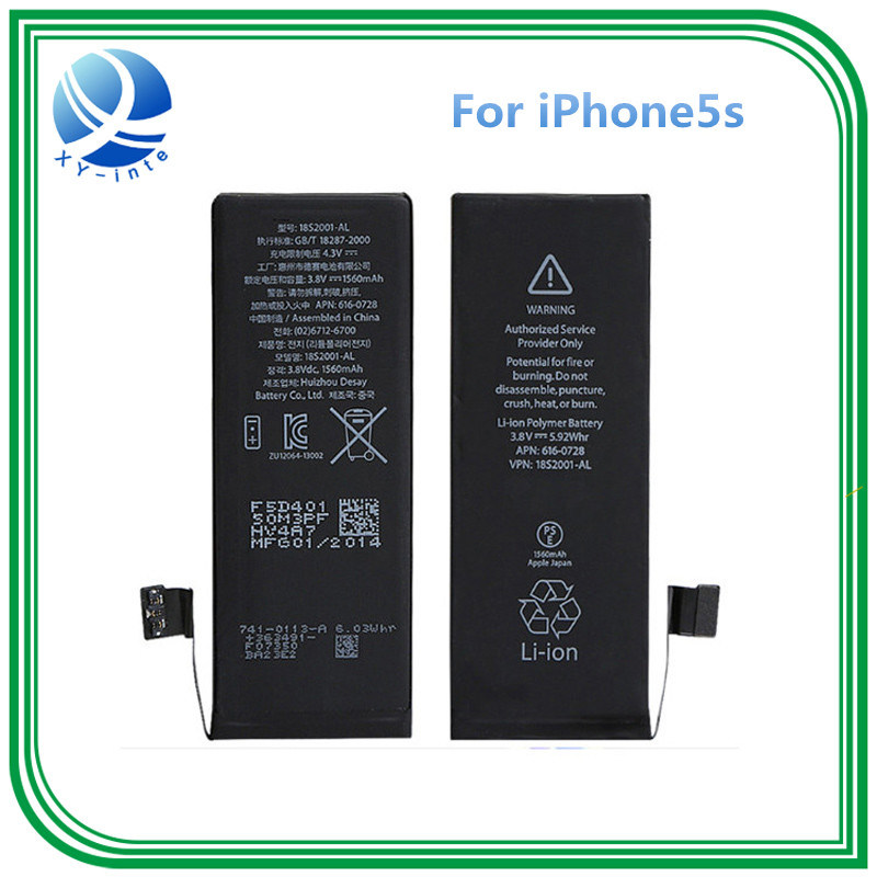 lithium-Lon Battery for Phone/iPhone 5s