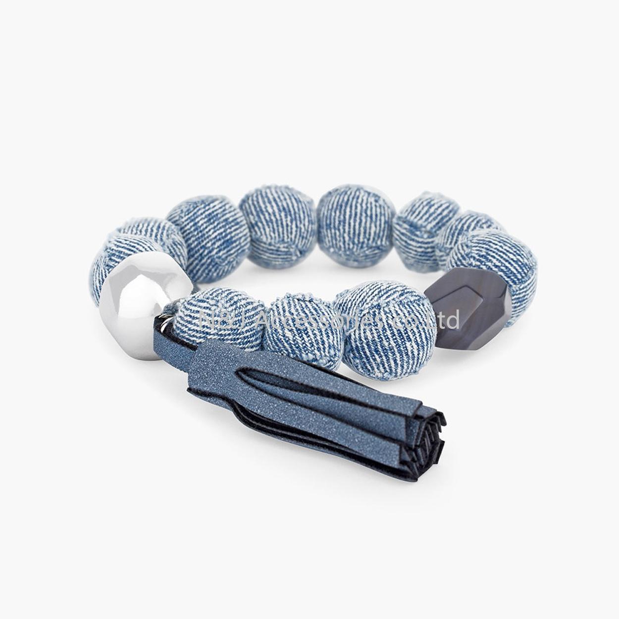 2017 New Arrived Fashion Spring Color Bracelet Natural Colorful Ball Bracelet Beaded Pearl Bracelets Meditation Jewelry