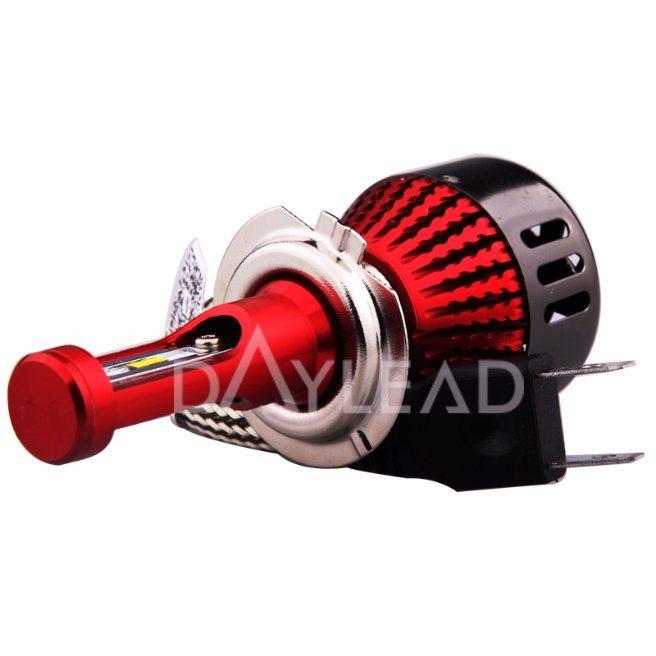 Universal Single Beam H7 96W Headlight Head Lamp for Automobile