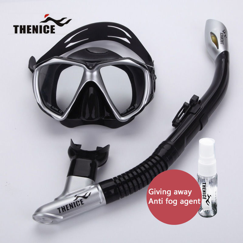 Thenice Professional Snorkeling Diving Set Kit