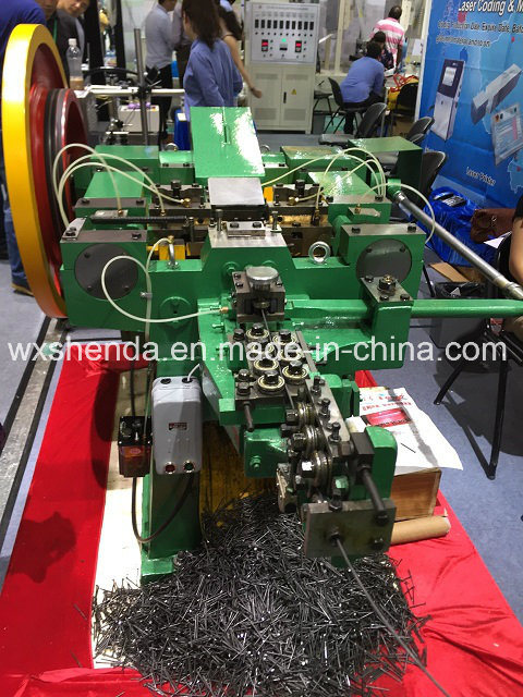 Wide Usage Full Automatic Steel Nail Making Machine
