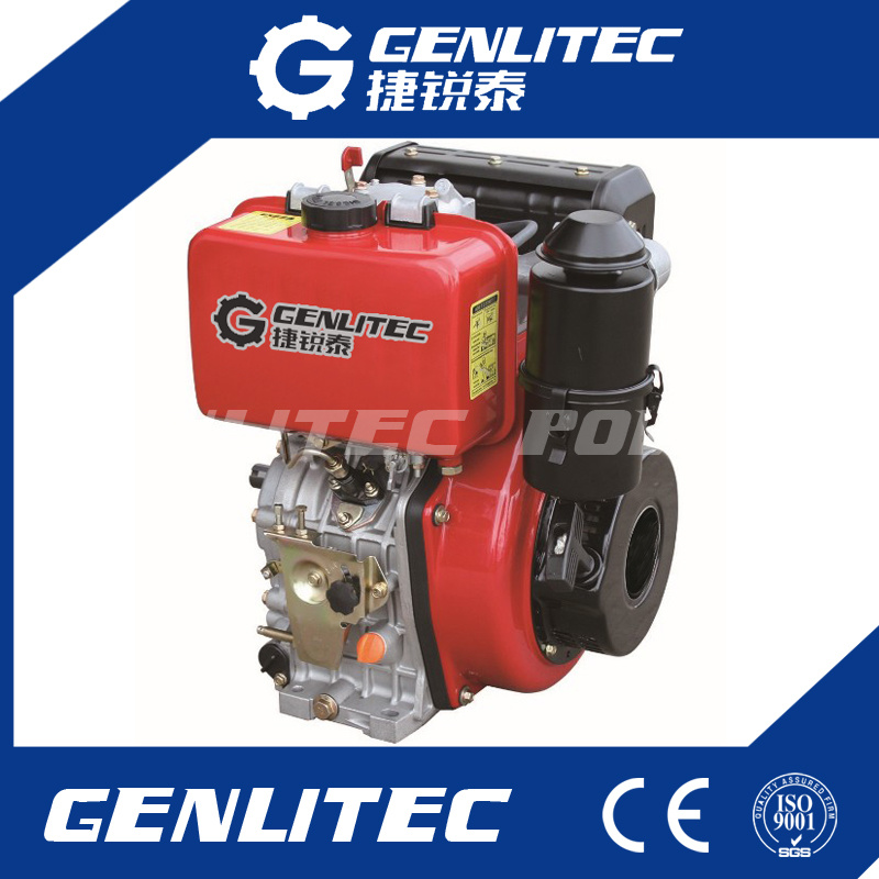 Air Cooled Single Cylinder Diesel Engine Motor From 4HP up to 15HP
