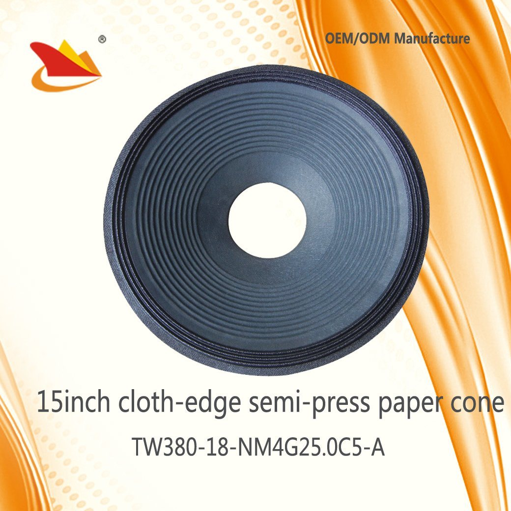 Hot Sale Speaker Parts 15inch PA Speaker Papar Cone - Speaker Cone, Free Sample