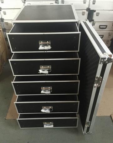 Aluminum Drawer Flight Case