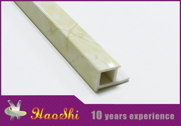 Marble PVC Edge Tile Trim Profile Bathroom Decoration