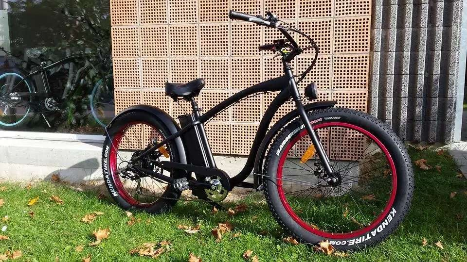 2016 Powerful Cool Fat Cruiser Electric Bike En15194 Approved 48V 500W/750W/1000W