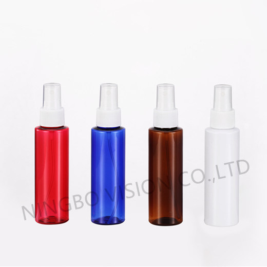 100ml Plastic Cosmetic Pet Bottle for Shampoo