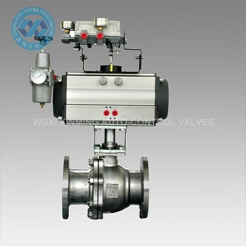 Pneumatic Control Valve for Gas Chemical Pipelines