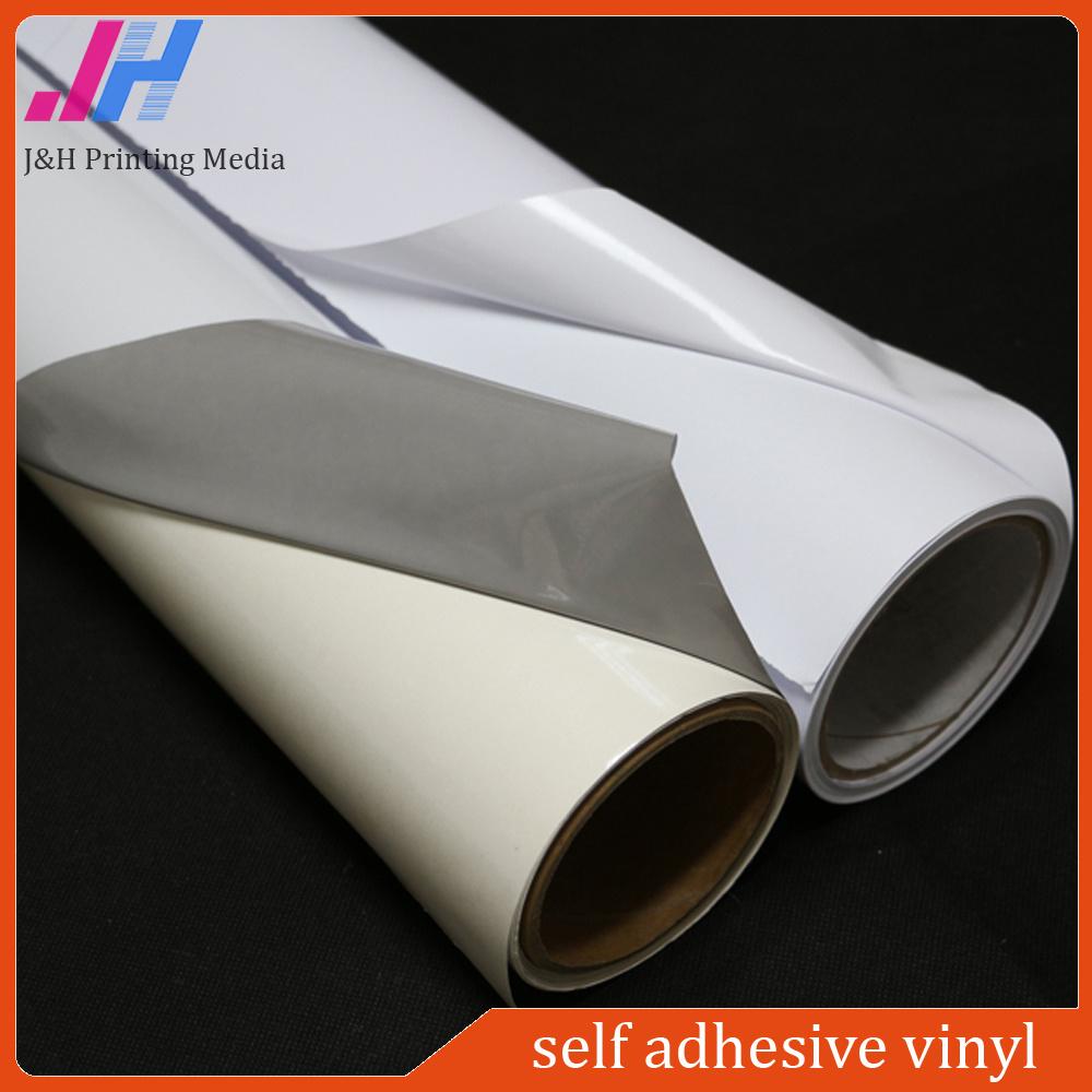 Black/ White / Grey Printable PVC Self Adhesive Vinyl Sticker (140GSM)