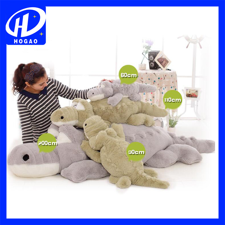 165cm Crocodile Plush Stuffed Animal Doll Toy Pillow Cushion
