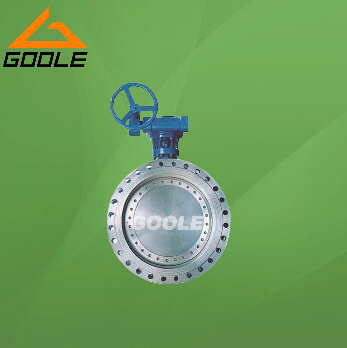API609 Triple Offset Flanged End High Performance Bi-Direction Butterfly Valve (GAD343H)