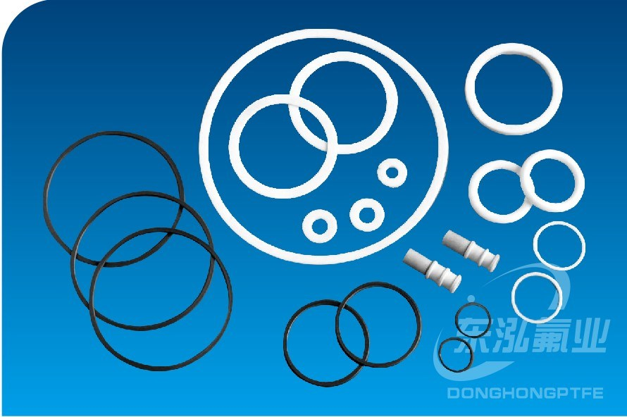 Teflon Gasket Rubber Seal Plastic Products PTFE Gasket