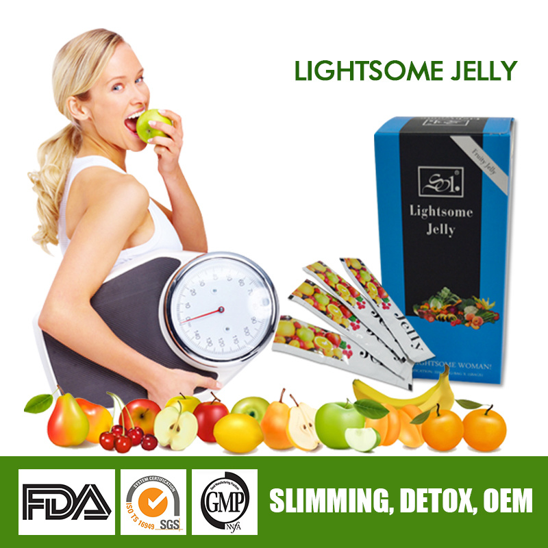 Chinese Herbal Slimming Jelly, Fast Weight Loss Health Food