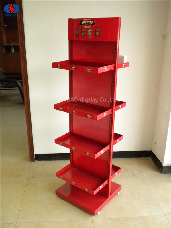 New Retail Shelves Snack Candy Rack Supermarket Rack