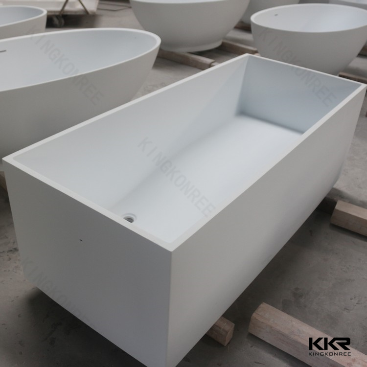Sanitary Ware Modern Freestanding Baths / Freestanding Stone Bathtub