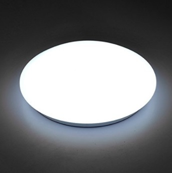 11.5 Inches 16W Round LED Flush Mount Ceiling Light for Living Room and Bedroom