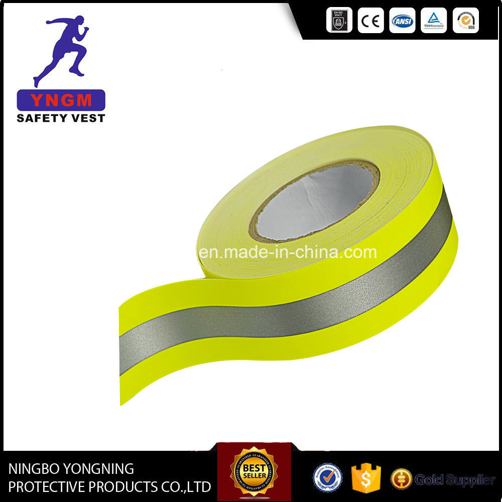 Reflective Warning Tape Fabric for High Visibility Vest