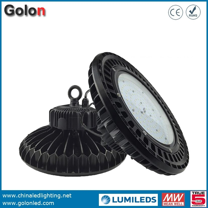 UFO LED Highbay Lamp Dimmable Sensor 130lm/W 240W 200W 100W LED High Bay Light 150W