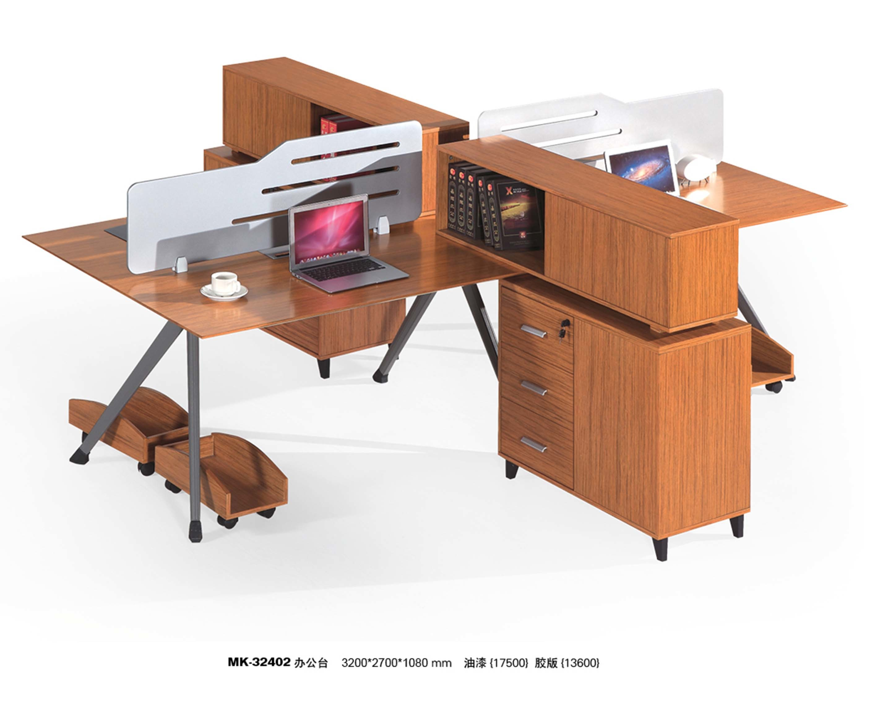 Modern Design Modular Wood Straight Computer Table