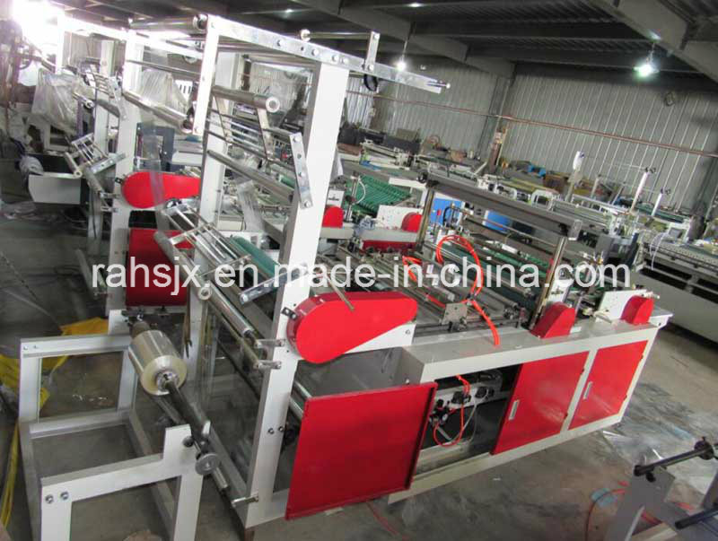 High Speed Side Sealing Heat Cutting Bag Making Machine