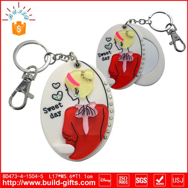 Customized Acrylic Mirror with Cartoon Design
